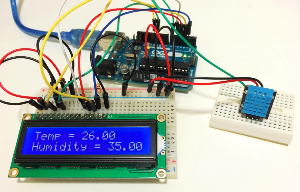 DHT11 溫溼度感測器模組