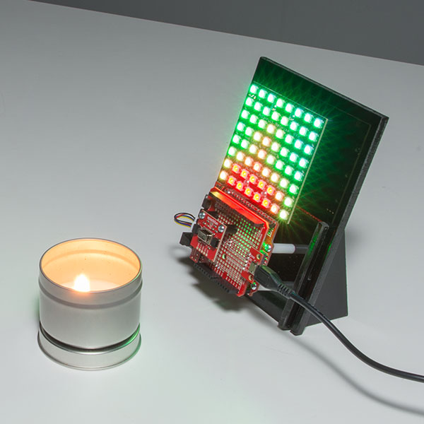 SparkFun Grid-EYE 紅外線陣列熱成像感測模組