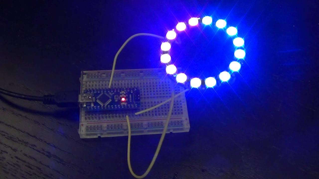「16 WS2812 5050 RGB LED」的圖片搜尋結果
