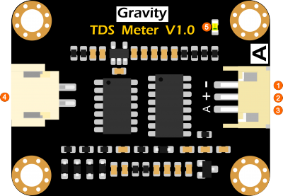 Arduino 類比 TDS 水質檢測模組