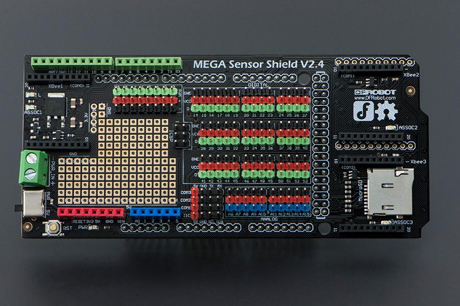 DFRobot Arduino Mega 專用感測器擴展版