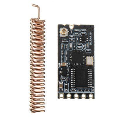 GT-38 SI4438 無線串口通訊傳輸模組 1200米收發距離 UART 接口