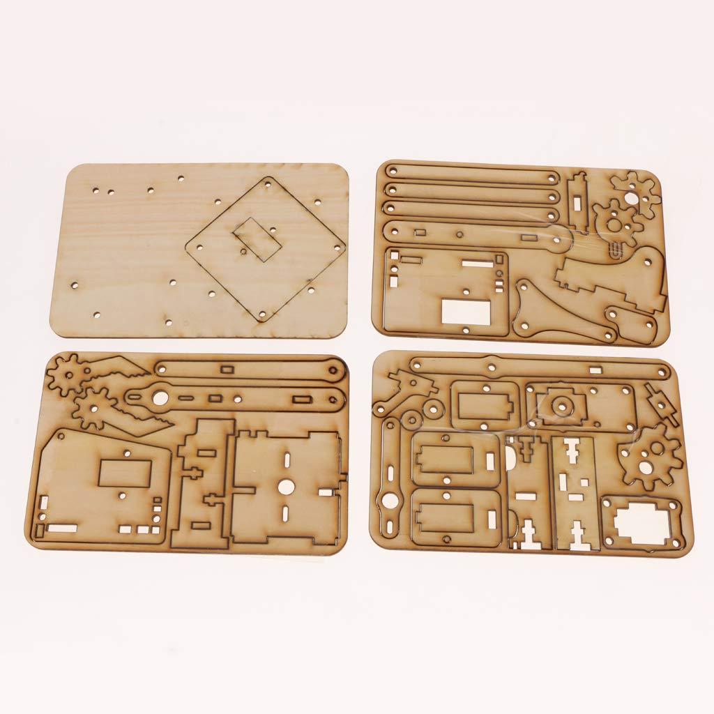 木製機械手臂機械爪套件