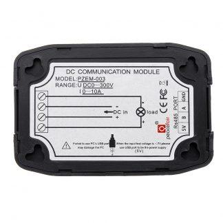 DC 0-300V 10A Voltmeter PZEM-003 Communication Wireless Module RS485 Modbus Voltage Current Power En