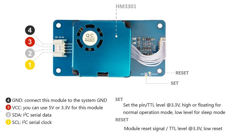 Grove - Laser PM2.5 Dust Sensor 粉塵感測器