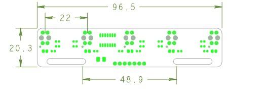 5路紅外線循跡傳感器 TCRT5000 反射式光電開關